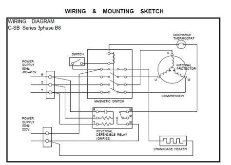 copeland compressor wiring diagram copeland compressor wiring diagram wiring diagram and