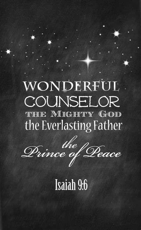 printable peace quotes christmas wonderful counselol the prince of peace