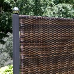 kunststoff terrasse terrassen sichtschutz tolle ideen f 252 r diese praktische deko
