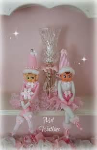 pink on a shelf
