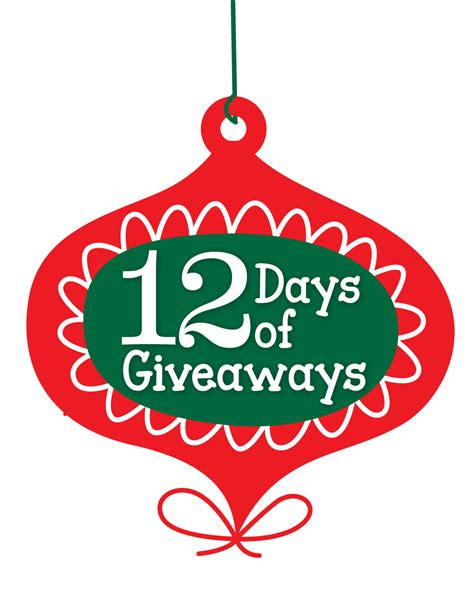 12 Days Of Christmas Giveaway - 12 days of giveaways coming soon from celebrate