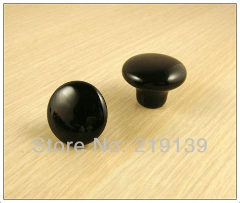new black ceramic bedroom furniture kitchen cabinet pulls
