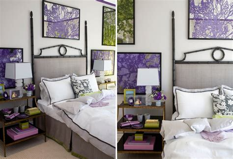 purple and green bedroom 20 fantastic bedroom color schemes