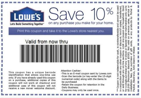 lowes coupons 10 tennis warehouse coupon