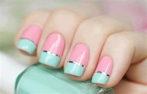 nail art tutorial using tape nail art using scotch tape and top 10 nail designs step by