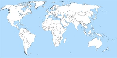 map world map world blank world continents map