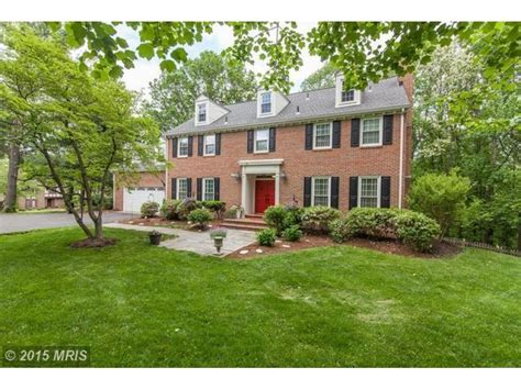 brick colonial homes vienna wow house brick colonial on nearly 1 acre