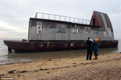 grand designs house boat grand designs houseboat neglected by couple washes up on