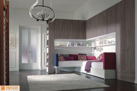 camerette letto cameretta ponte angolare con letti x bed imbottiti
