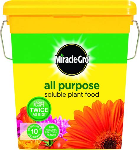 all flower food bargain miracle gro all purpose soluble plant food 2 kg tub just 163 4 99 at gratisfaction uk