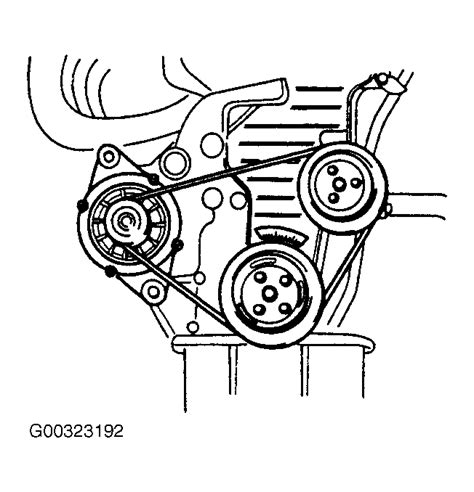 2003 Kia Timing Belt 2003 Kia Spectra Serpentine Belt Routing And Timing Belt
