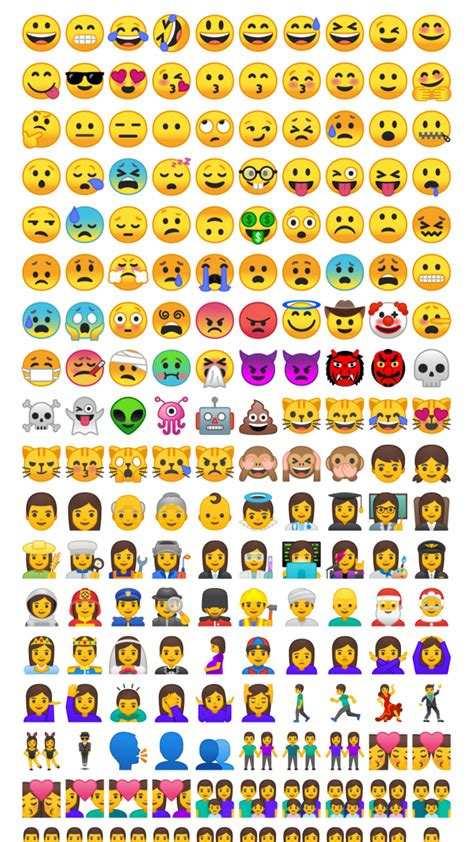android emojis android o redesigns emojis get them now on android 5 0