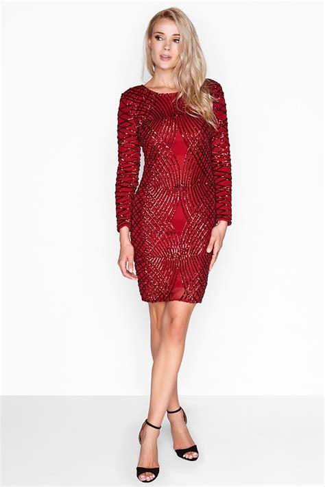 dress scarlet brukat gliter outlet on sequin dress outlet on