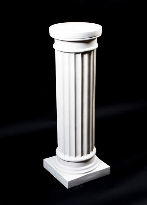 Grecian Columns Grecian Marble Doric Column Pedestal