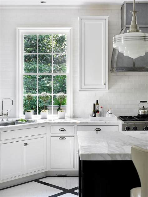 mystery island kitchen black and white painted kitchen floor transitional kitchen