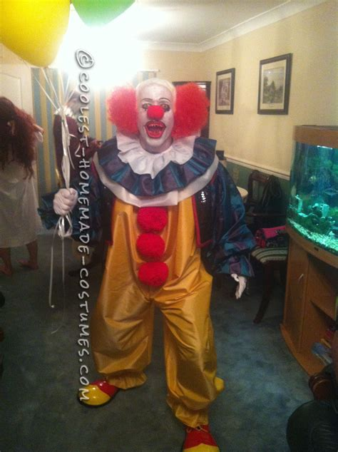 It Pennywise Clown Mask Costume original pennywise the clown costume