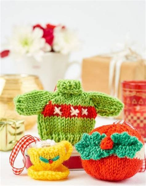 christmas jumper tree decorations pattern over 50 free knitted christmas knitting patterns