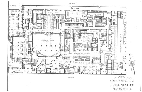 Statler Hotels Hotel Pennsylvania Blueprints House Blueprints Records