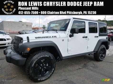 2016 jeep sport white 2016 bright white jeep wrangler unlimited sport 4x4
