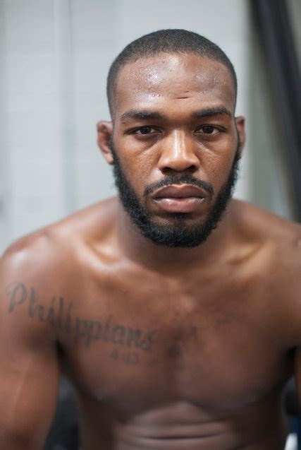 jon jones tattoo mixed martial artist jon jones is mighty yet measured