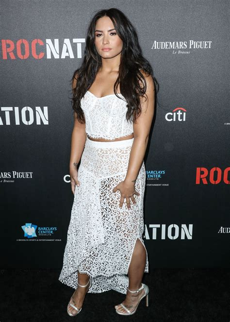 Is Demi Nation by Demi Lovato Roc Nation Pre Grammy Brunch In Los Angeles