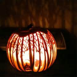 spooky tree pumpkin template you ll never look at a pumpkin the same again after this