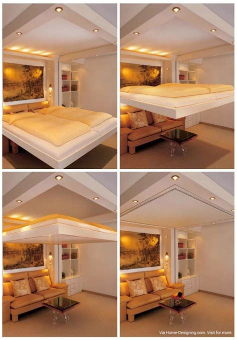 ceiling bed space saving beds bedrooms