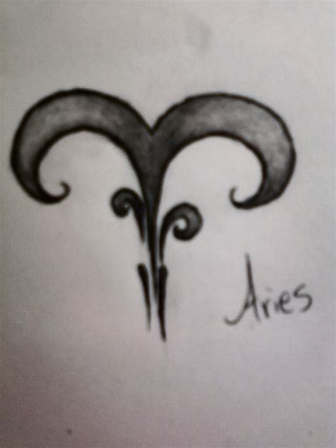 aries flower tattoo designs aries images designs