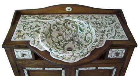 bagni decorati gallery handmade ceramic works