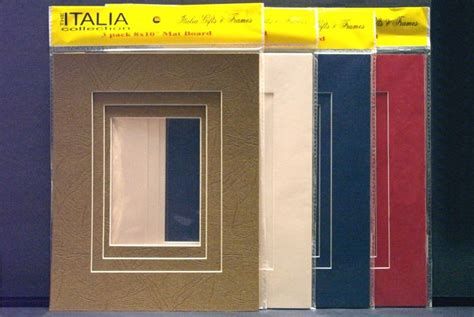 Ready Made Frames With Mats by 3 Pack Mat Kits Mats Accessories Frames Mat Kits