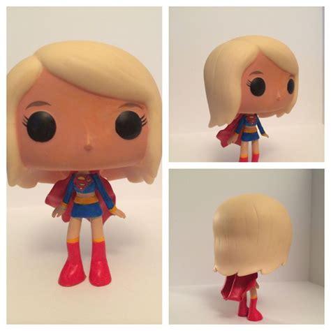 p funk figures supergirl custom funko pop custom funko pop