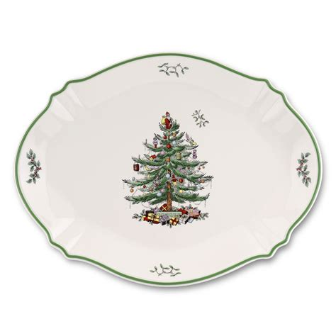 spode christmas tree oval platter 59 95 you save 60 05