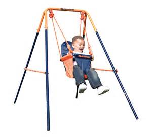 Swing With Folding Toddler Swing Hedstrom