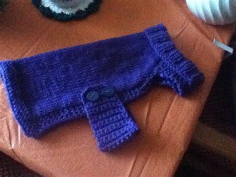 knitting pattern for medium dog coat knitted dog sweater knit or crochet pinterest