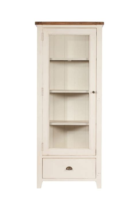 Cabinet Montpellier by Montpellier Painted 1 Door Display Cabinet Casa
