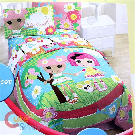 lalaloopsy twin bed lalaloopsy 4pc twin bedding comforter with sheet set ebay