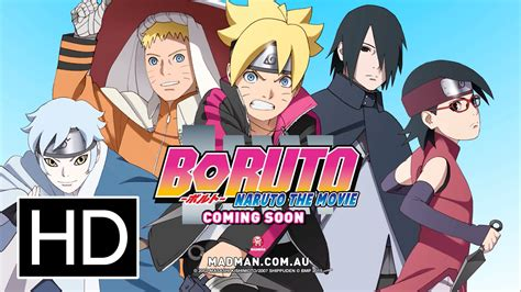 film boruto full movie boruto naruto the movie official full trailer anime