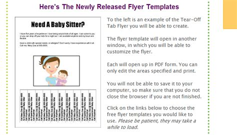 how to create a flyer with tear off tabs printaholic com