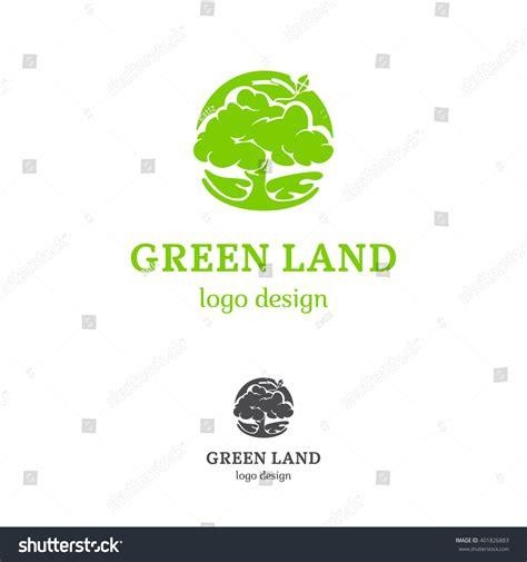 Green Tree Logo Concept Stock Vector 401826883 Shutterstock Green Concept Logo Vectors