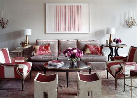Raspberry And Grey Living Room Ideas And Gray Living Rooms Panda S House