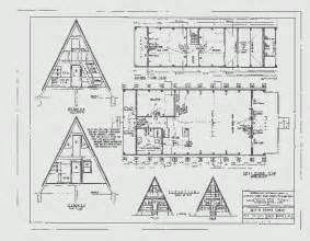 a frame cabin floor plans small a frame home plans house design plans