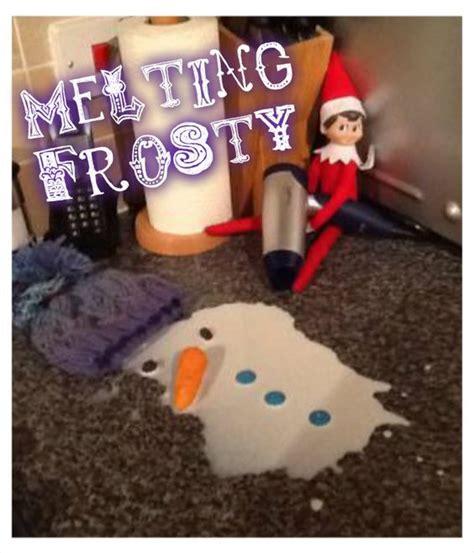 Hair Dryer Prank on the shelf prank melting frosty the snowman with a