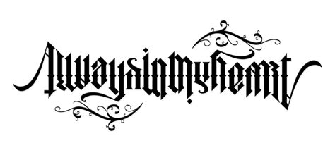 tattoo fonts net ambigram ambigram generator