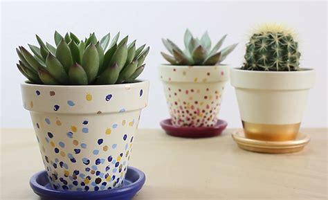 como decorar plantas con macetas decorar las macetas con esmaltes acr 237 licos