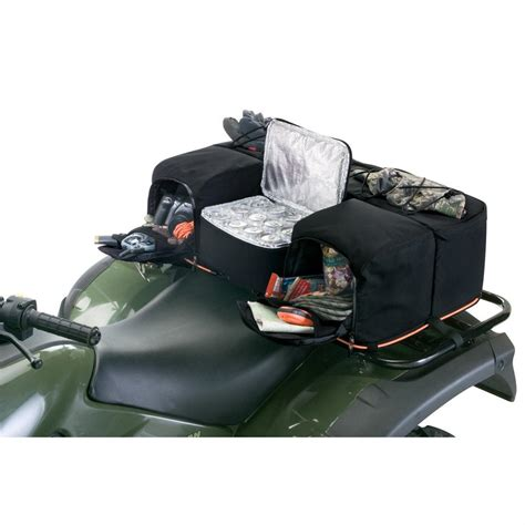 Atv Rear Rack Bag With Cooler by Classic 174 Timber 174 Camo Quadgear Atv Rear Rack Bag With