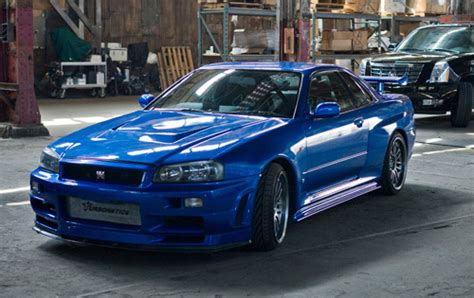 Nissan skyline fast and furious 4  Cars Wallpapers And