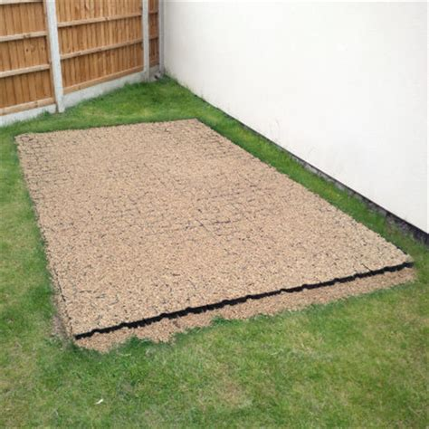 shed base kit incl fabric truepave grids decks