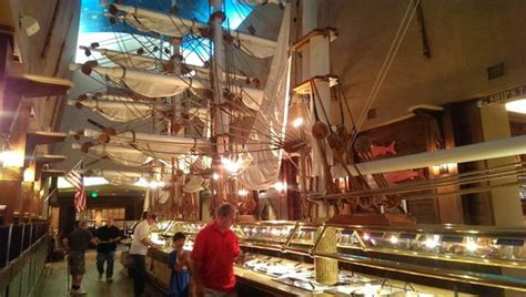 captain georges seafood buffet kitschy picture of captain george s seafood restaurant
