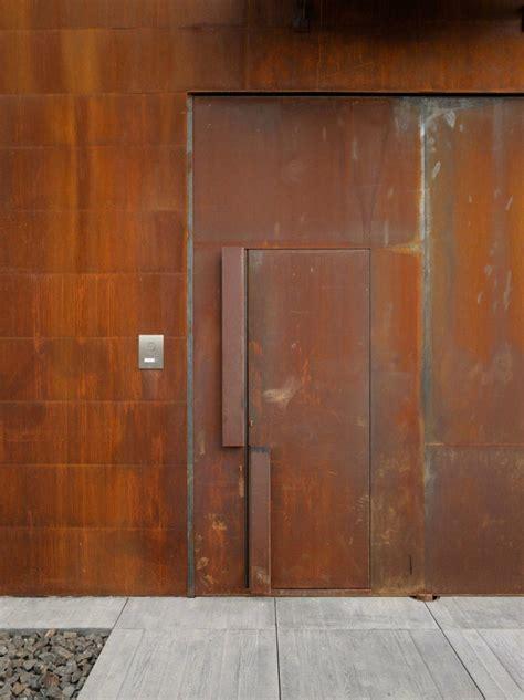 Corten Door by Trend Alert Oversized Front Door Handles