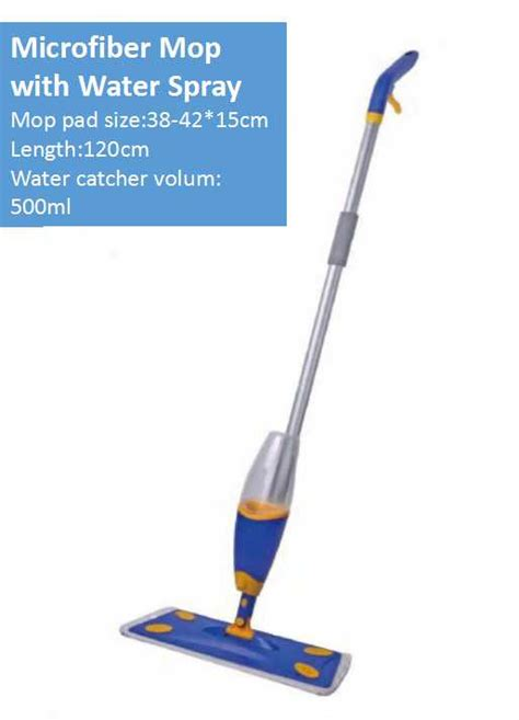 microfiber mop with water spray ful1615